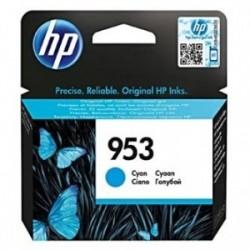 Inkoustová cartridge HP 953 (F6U12AE) originální, modrá (cyan), 700str.,HP OfficeJet Pro 8218, 8710, 8720, 8730, 8740