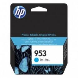 Inkoustová cartridge HP 953 (F6U12AE) originální, modrá (cyan), blistr, 700str.,HP OfficeJet Pro 8218, 8710, 8720, 8730, 8740