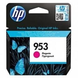 Inkoustová cartridge HP 953 (F6U13AE) originální, červená (magenta), 700str., HP OfficeJet Pro 8218, 8710, 8720, 8730, 8740