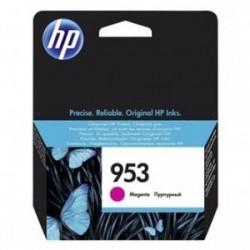 Inkoustová cartridge HP 953 (F6U13AE) originální, červená (magenta), blistr, 700str., OfficeJet Pro 8218, 8710, 8720, 8730, 8740