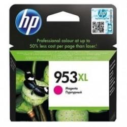 Inkoustová cartridge HP 953XL (F6U17AE) originální, červená (magenta), 1600str., OfficeJet Pro 8218, 8710, 8720, 8730, 8740