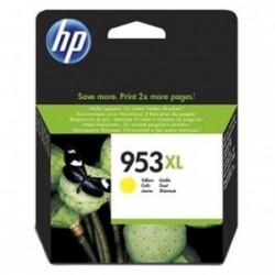 Inkoustová cartridge HP 953XL (F6U18AE) originální, žlutá (yellow), 1600str., HP OfficeJet Pro 8218, 8710,8720, 8730,8740