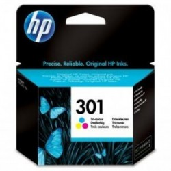 Inkoustová cartridge HP 301 (CH562EE) originální, barevná (color), 165str., HP Deskjet 1000, 1050, 2050, 3000, 3050