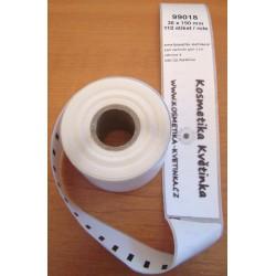 Etikety / Štítky Dymo Labelwriter 190x38mm, 99018, S0722470, 110ks kompatibilní