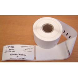 Etikety / Štítky Dymo Labelwriter 89x41mm, 11356, S0722560, 300ks kompatibilní
