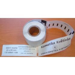 Etikety / Štítky Dymo Labelwriter 89x28mm, 99011, S0722380,  130ks modré kompatibilní