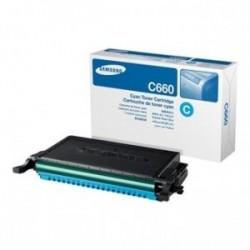 Toner Samsung / HP CLP-C660B (C660B, ST885A) , modrý (cyan), originální, 5000str., CLP-610 - 612, CLP-660, CLP-661