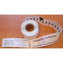 Etikety / Štítky Dymo Labelwriter 89x28mm, 99011, S0722380,  130ks růžové kompatibilní