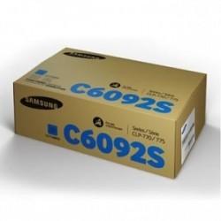 HP / Samsung originální toner SU082A, CLT-C6092S, modrý (cyan), 7000str., C6092S, CLP-770, CLP-775N