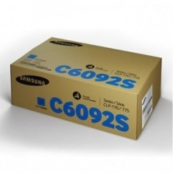 Toner Samsung / HP CLT-C6092S (C6092, SU082A), modrý (cyan), originální, 7000str., CLP-770, CLP-775N