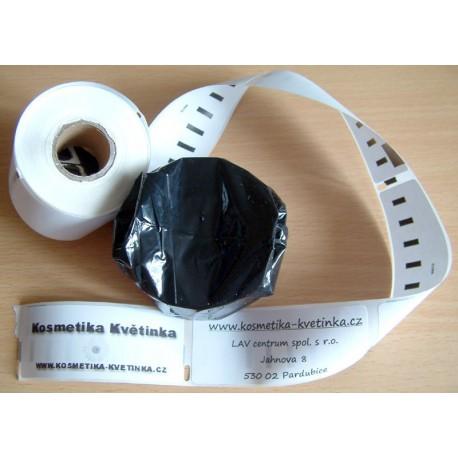 Etikety / Štítky Seiko SLP Label adresní 28x89mm , SLP-2RL, SLP-2RLH, SLP-1RL, SLP-R2RL  130ks - kompatibilní