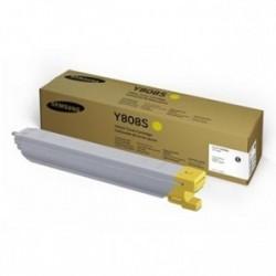 Toner Samsung / HP CLT-Y808S (Y808S, 808S, SS735A), žlutý (yellow), originální, 20000str., MultiXpress X4250LX, X4300LX, X4220RX