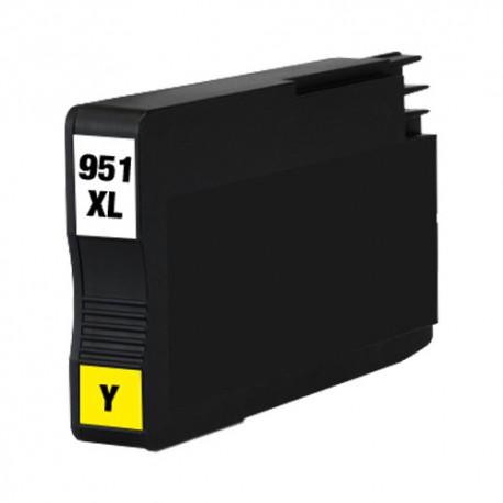 Cartridge HP 951XL (951 XL, 950 XL, CN048A) žlutá (yellow) s čipem HP Officejet Pro 8100, 8600 - kompatibilní inkoustová náplň