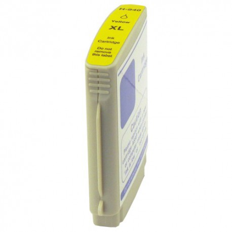 Cartridge HP 940XL (940 XL, C4909A) žlutá (yellow) s čipem HP Officejet Pro 8000, 8500 - kompatibilní inkoustová náplň