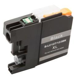 Cartridge Brother LC-123Bk (LC-123) černá (black) - J470DW, J132W, J152W, J552 - kompatibilní inkoustová náplň