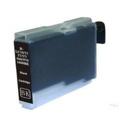 Cartridge Brother LC-1000Bk / LC-970Bk černá (black) - DCP-130,DCP-135,DCP-770,MFC-235,MFC-360 - kompatibilní inkoustová náplň