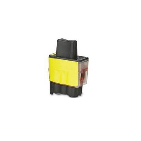 Cartridge LC-900Y / LC-950Y žlutá (yellow)  - DCP-110,DCP-115,DCP-310,MFC-210,MFC-425,MFC-3240 - kompatibilní inkoustová náplň
