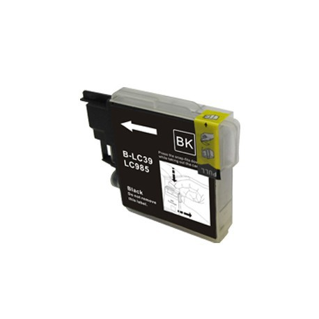 Cartridge Brother LC985Bk černá (black) - DCP-J125,DCP-J315,DCP-J515,MFC-J220,MFC-J265,MFC-J415-kompatibilní inkoustová náplň