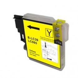 Cartridge Brother LC-985Y žlutá (yellow) - DCP-J125,DCP-J315,DCP-J515,MFC-J220,MFC-J265,MFC-J415-kompatibilní inkoustová náplň