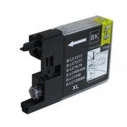 Cartridge LC-1240Bk / LC-1220Bk / LC-1280Bk černá (black) - DCP-J525,DCP-J725,MFC-J430,MFC-J6510 - kompatibilní inkoustová náplň