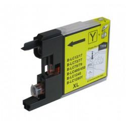 Cartridge LC-1240Y / LC-1220Y / LC-1280Y žlutá (yellow) - DCP-J525,DCP-J725,MFC-J430,MFC-J6510 - kompatibilní inkoustová náplň