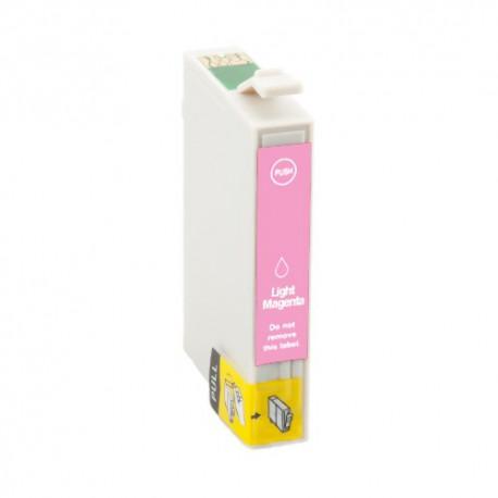 Cartridge Epson T0806 světle červená (light magenta) -  Stylus Photo - komp. inkoustová náplň - PX650, RX685, PX800, R265, R360