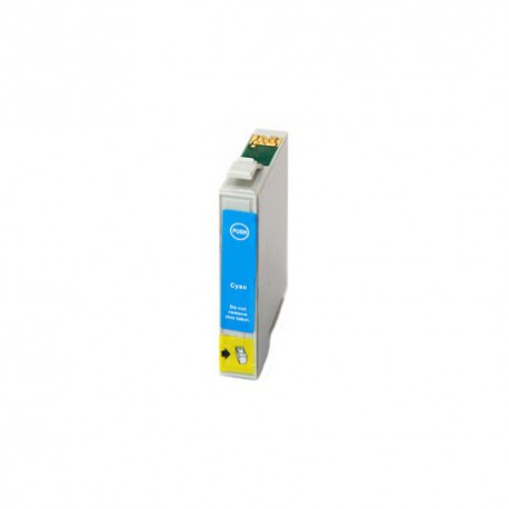 Cartridge Epson T0712 modrá (cyan) - komp. inkoustová náplň - Epson Stylus SX100, SX115, SX110, SX510, DX7400, DX4000, DX5000