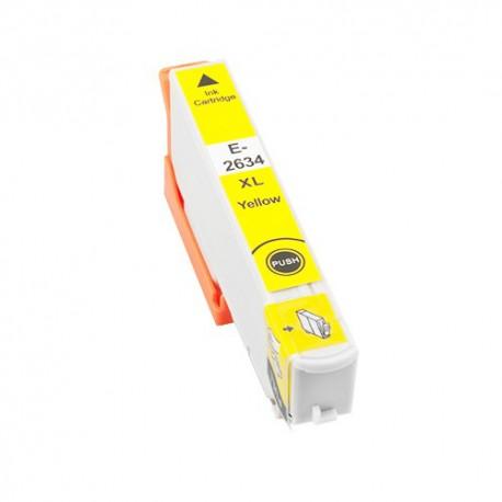Cartridge Epson T2634 - 26XL žlutá (yellow) - komp. inkoustová náplň - Epson Expression Pro XP-600, XP-605, XP-800, XP-700
